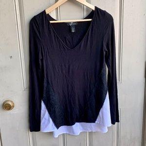 White house black market Longsleeve shirt size XS